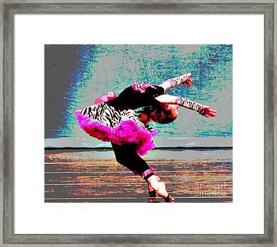 Dancevii Framed Print by Linda Cox