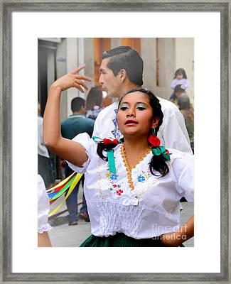 Dancing For Jesus' Birthday Framed Print by Al Bourassa