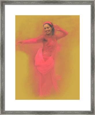 Dancing For Joy Framed Print by Jeff Burgess