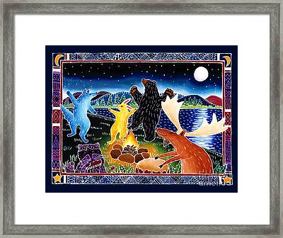 Dancing In The Moonlight Framed Print by Harriet Peck Taylor