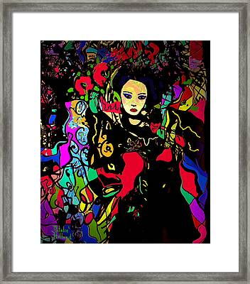 Dancing In The Moonlight Framed Print by Natalie Holland