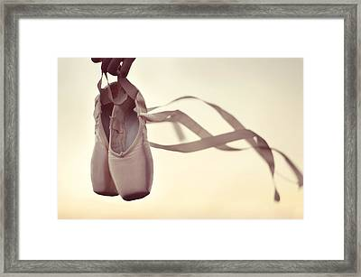 Dancing On The Wind Framed Print by Laura Fasulo