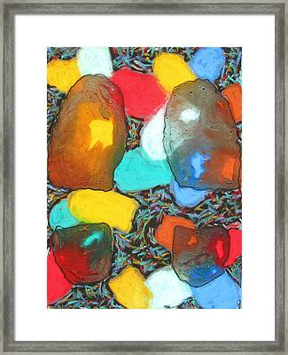 Dancing Shoes Framed Print by Russell Zellers