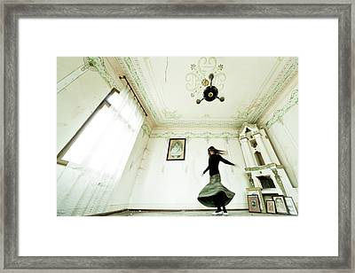 Dancing Time Framed Print by Eli Driu