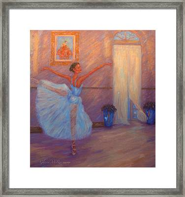 Dancing To The Light Framed Print by Glenna McRae