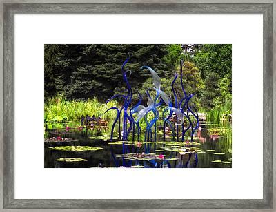 Dancing Framed Print by Tony Boyajian