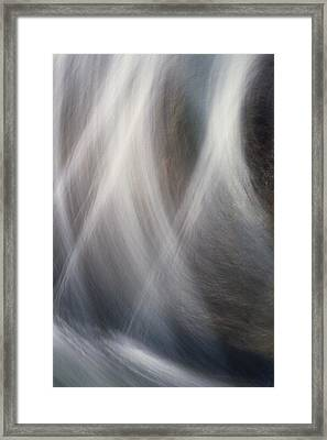 Dancing Water Framed Print by Kathy Bassett
