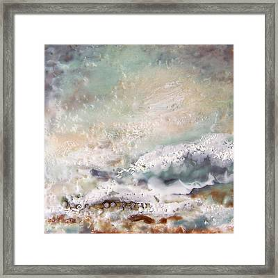 Dancing Waters Framed Print by Victoria Primicias