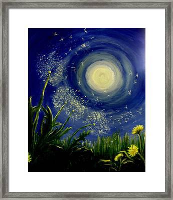 Dandy  Magic Framed Print by Tammy Rogers