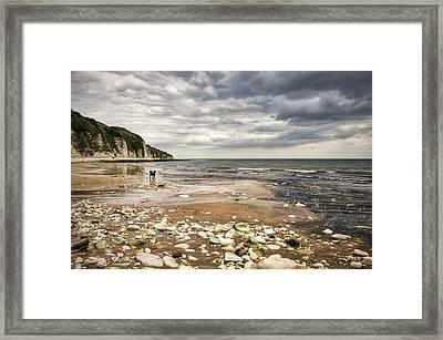 Danes Dyke Framed Print by Svetlana Sewell