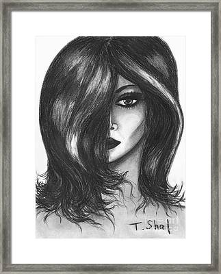 Dangerous Framed Print by Tara  Shalton