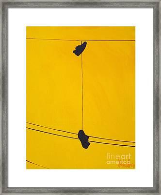 Dangling Souls Framed Print by Michael Ciccotello