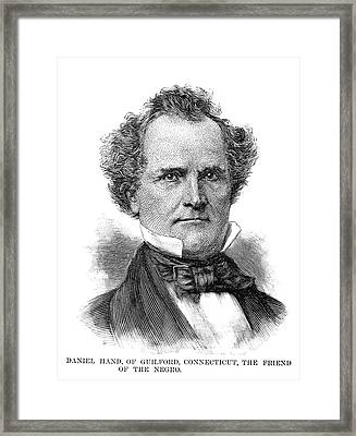 Daniel Hand (1801-1891) Framed Print by Granger