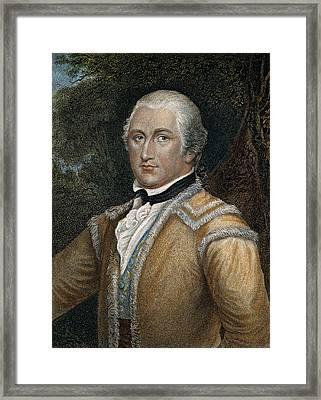 Daniel Morgan (1736-1802) Framed Print by Granger
