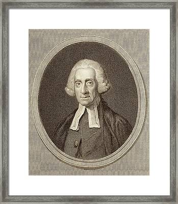 Daniel Wray Framed Print by Middle Temple Library