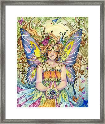 Danielle Framed Print by Sara Burrier