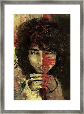 Danny Framed Print by Corporate Art Task Force