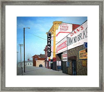 Dan's Framed Print by Stacy C Bottoms