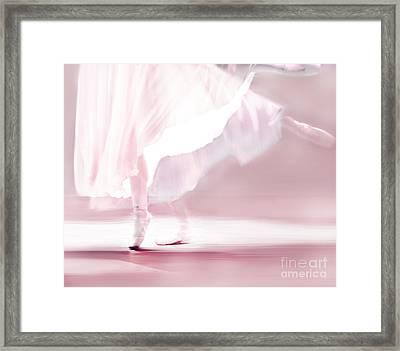 Danseur De Ballet Framed Print by Linde Townsend