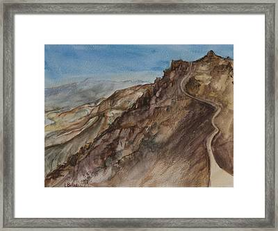 Dantes View Framed Print by Lynne Bolwell