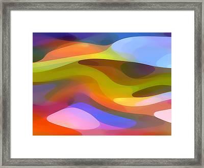Dappled Light 9 Framed Print by Amy Vangsgard