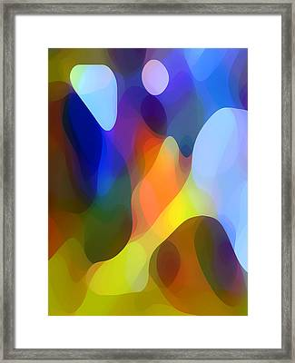 Dappled Light Framed Print by Amy Vangsgard