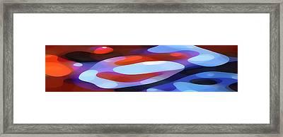 Dappled Light Panoramic 3 Framed Print by Amy Vangsgard