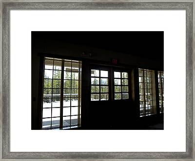 Dark Against The Light Framed Print by Tara Lynn