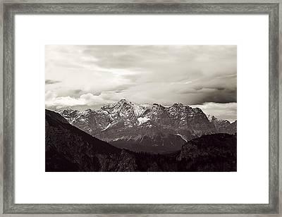Dark Alps Framed Print by Ryan Wyckoff