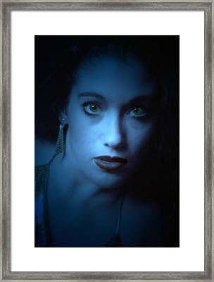 Dark And Mysterious  Framed Print by Teri Schuster
