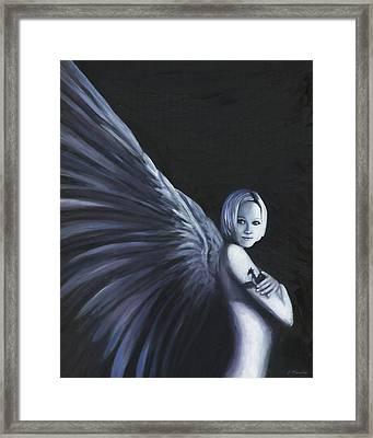 Dark Angel Framed Print by Joe Maracic