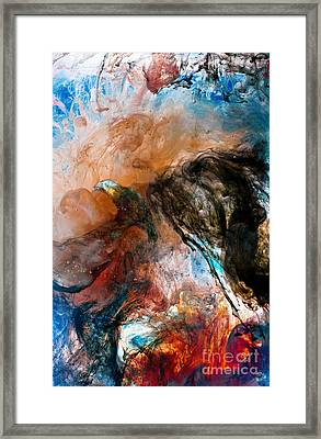 Dark Angel Framed Print by Petros Yiannakas