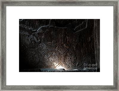 Dark Corners Framed Print by Marion Galt
