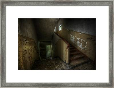 Dark End Framed Print by Nathan Wright