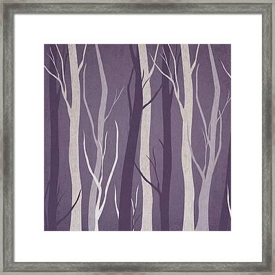 Dark Forest Framed Print by Aged Pixel