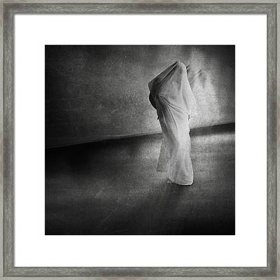Dark Hallway Framed Print by Erik Brede