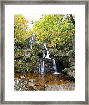 Dark Hollow Falls Framed Print by Metro DC Photography