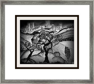 Dark Life Framed Print by Mylene Le Bouthillier