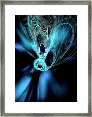 Dark Matter Theory Framed Print by Victor Habbick Visions