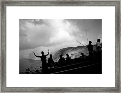 Dark Menace Framed Print by Sean Davey