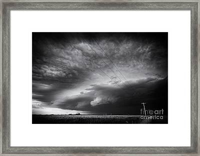 Dark Prairie Framed Print by Dan Jurak