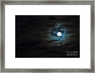 Dark Rising Framed Print by Andrew Paranavitana