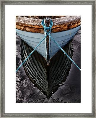 Dark Waters Framed Print by Stelios Kleanthous