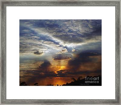 Darkness Descends Framed Print by Megan Dirsa-DuBois