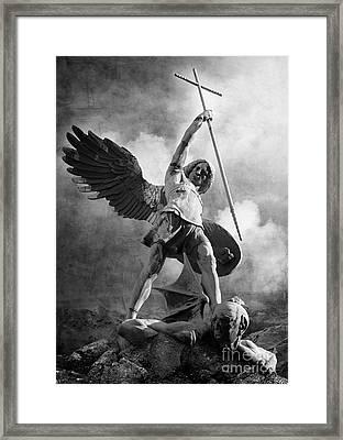 Darkness Framed Print by Archangelus Gallery