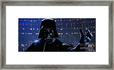 Darth Vader Framed Print by Paul Tagliamonte