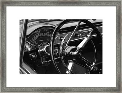 Dash Framed Print by Marvin Borst