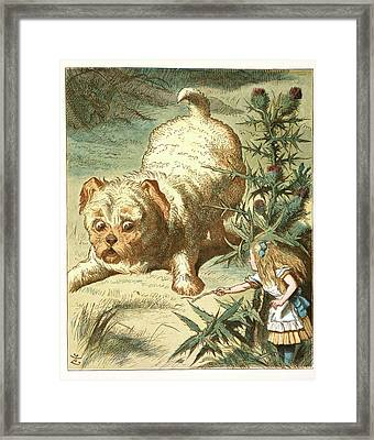 Dash The Puppy Framed Print by British Library