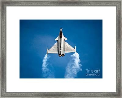 Dassault Rafale Framed Print by Rastislav Margus