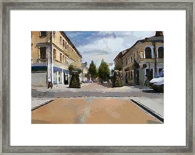 Daugavpils Street 2 Framed Print by Yury Malkov